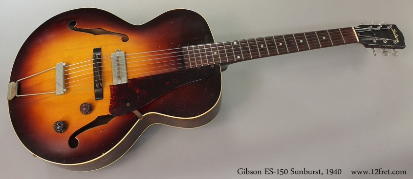 Gibson ES-150 Sunburst, 1940 Full Front View