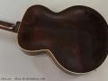 Gibson ES-150 Sunburst, 1940 Back