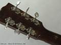 Gibson ES-150 Sunburst, 1940 Head Rear