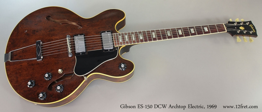 Gibson ES-150 DCW Archtop Electric, 1969 full front view