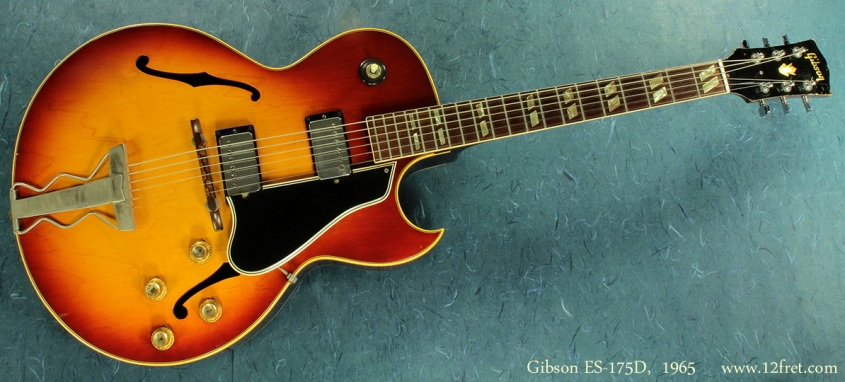 Gibson ES-175D, 1965 full front