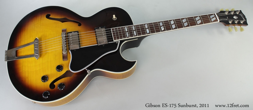 Gibson ES-175 Sunburst, 2011 Full Front View