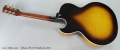 Gibson ES-175 Sunburst, 2011 Full Rear View