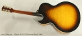Gibson ES-175 VS Archtop Electric, 2003 Full Rear VIew