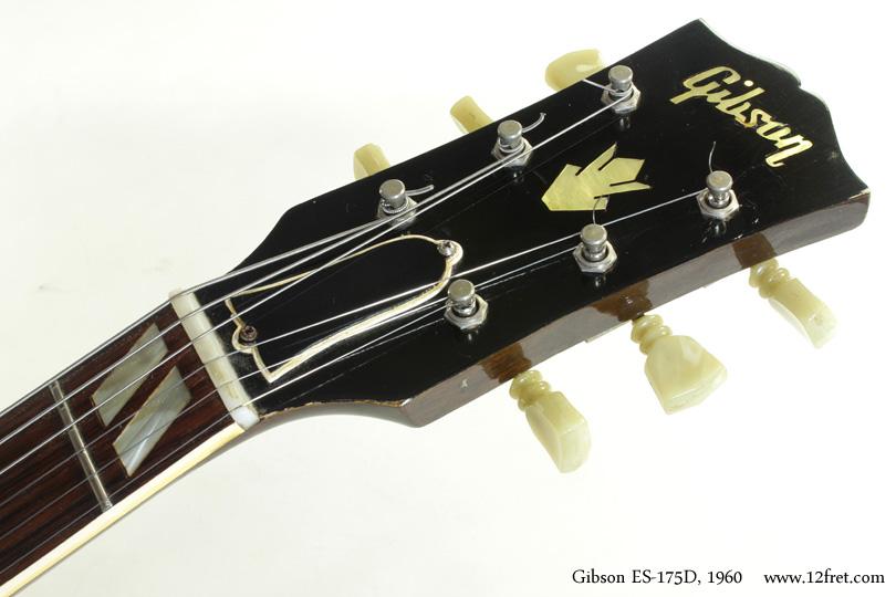 Gibson ES-175D 1960 head front