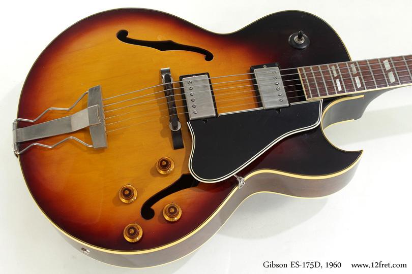Gibson ES-175D 1960 top
