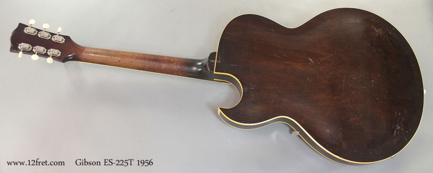 Gibson ES-225T 1956 full rear view