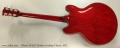 Gibson ES-325 Thinline Archtop Cherry, 1972 Full Rear View