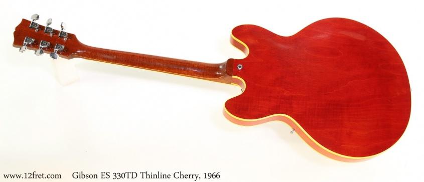 Gibson ES 330TD Thinline Cherry, 1966 Full Rear View