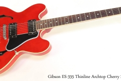 Gibson ES-335 Thinline Archtop Cherry 2012 Full Front View