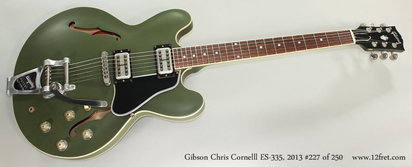 Gibson Chris Cornelll ES-335, 2013 #227 of 250 Full Front View
