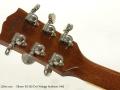 Gibson ES-335 Dot Vintage Sunburst 1995 head rear