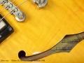 Gibson ES-335 Dot Vintage Sunburst 1995 label