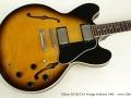Gibson ES-335 Dot Vintage Sunburst 1995 top