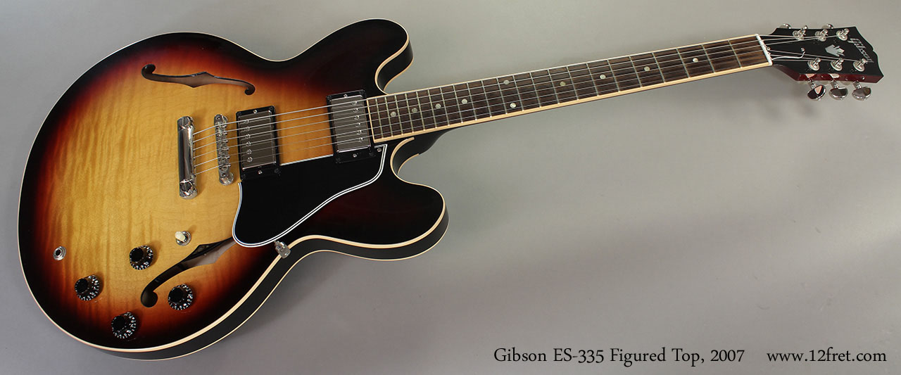 Gibson ES-335 Figured Top, 2007 Full Front View