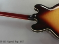 Gibson ES-335 Figured Top, 2007 Full Rear View