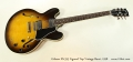Gibson ES-335 Figured Top Vintage Burst, 1998 Full Front View