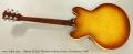 Gibson ES-335 Thinline Archtop Guitar, Honeyburst, 2005 Full Rear View