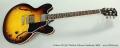 Gibson ES-335 Thinline Tobacco Sunburst, 2009 Full Front View