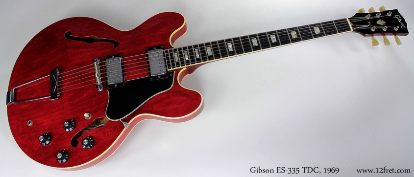 Gibson ES-335 TDC 1969 full front view