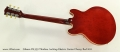 Gibson ES-339 Thinline Archtop Electric Guitar Cherry Red 2011 Full Rear View
