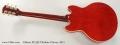 Gibson ES-339 Thinline Cherry, 2011 Full Rear View
