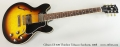 Gibson ES-339 Thinline Tobacco Sunburst, 2008 Full Front View