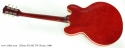 Cherry Red Gibson ES-345 TD, 1960 full rear view