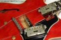 Cherry Red Gibson ES-345 TD, 1960 pickups removed
