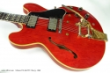 Cherry Red Gibson ES-345 TD, 1960 top driver's view
