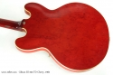 Cherry Red Gibson ES-345 TD, 1960 back