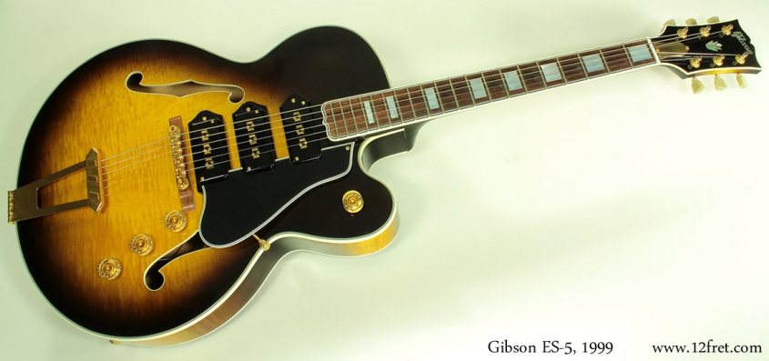 Gibson ES-5 1999 full front view