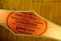 Gibson ES-5 1999 label