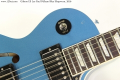 Gibson ES Les Paul Pelham Blue Shopworn, 2016 Finish Dent View