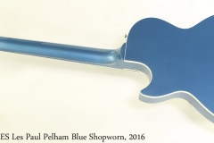 Gibson ES Les Paul Pelham Blue Shopworn, 2016 Full Rear View