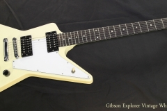 Gibson Explorer Vintage White, 2008  Full Front View