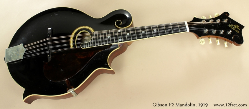 Gibson F2 Mandolin 1919 full front view