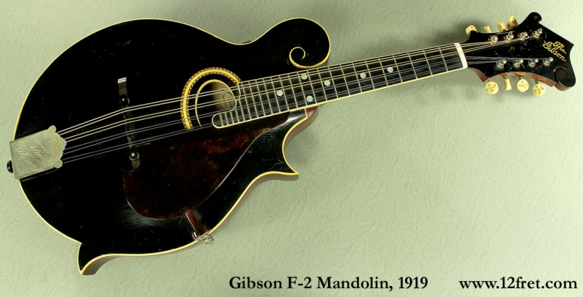 Gibson F-2 Mandolin, 1919 full front view