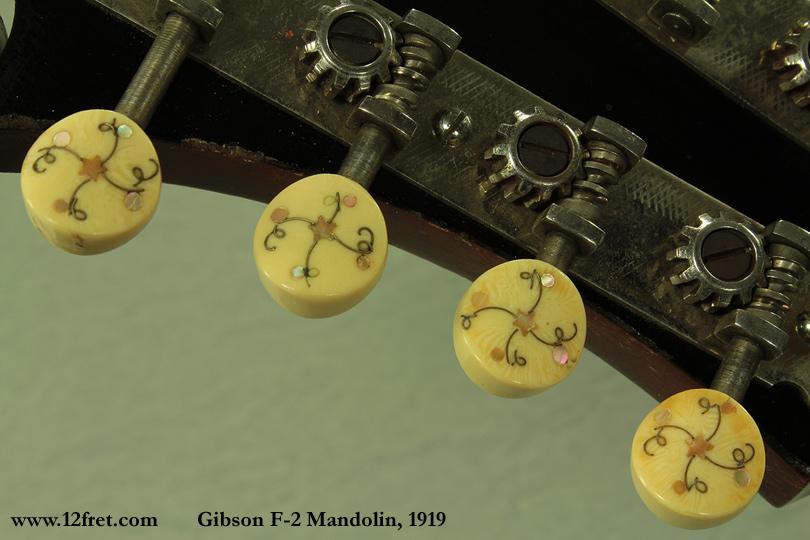 Gibson F-2 Mandolin, 1919 | www 12fret com