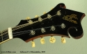 Gibson F-2 Mandolin, 1919 head front view
