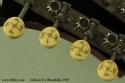 Gibson F-2 Mandolin, 1919 tuner buttons