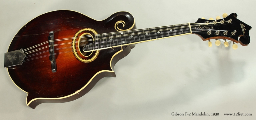 Gibson F-2 Mandolin, 1930 Full Front View