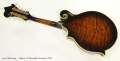 Gibson F-5 Mandolin Sunburst, 1978 Full Rear View