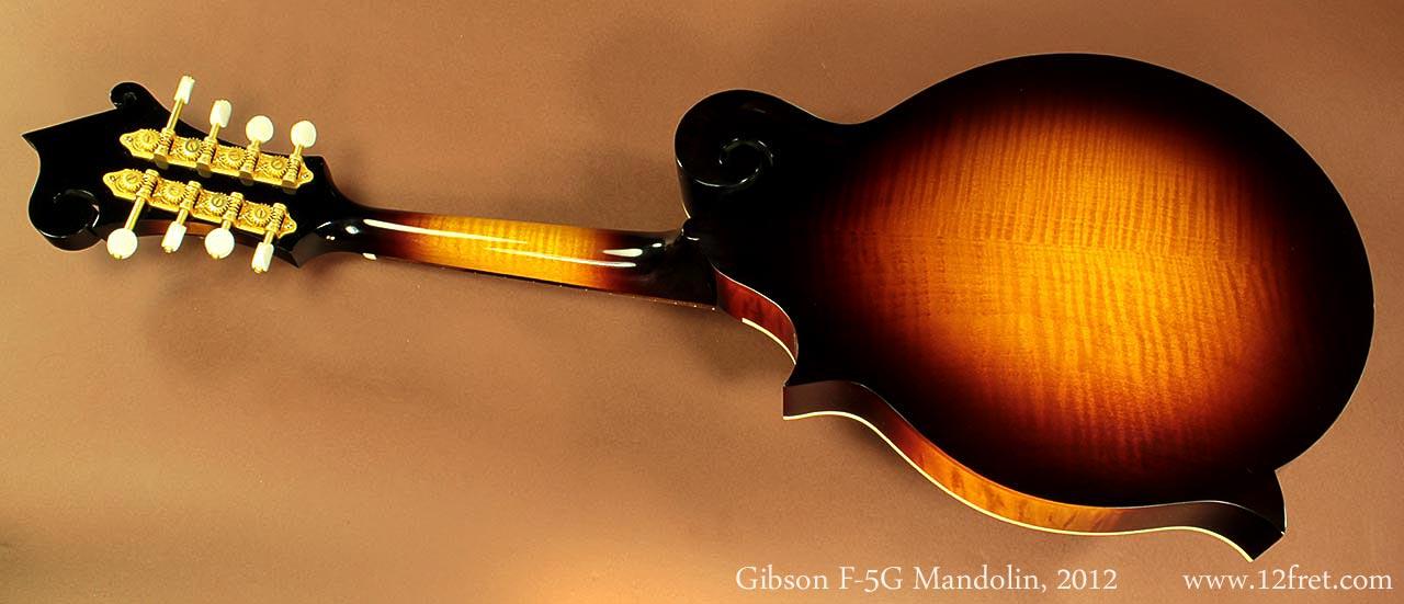 Gibson F-5G Mandolin | www 12fret com