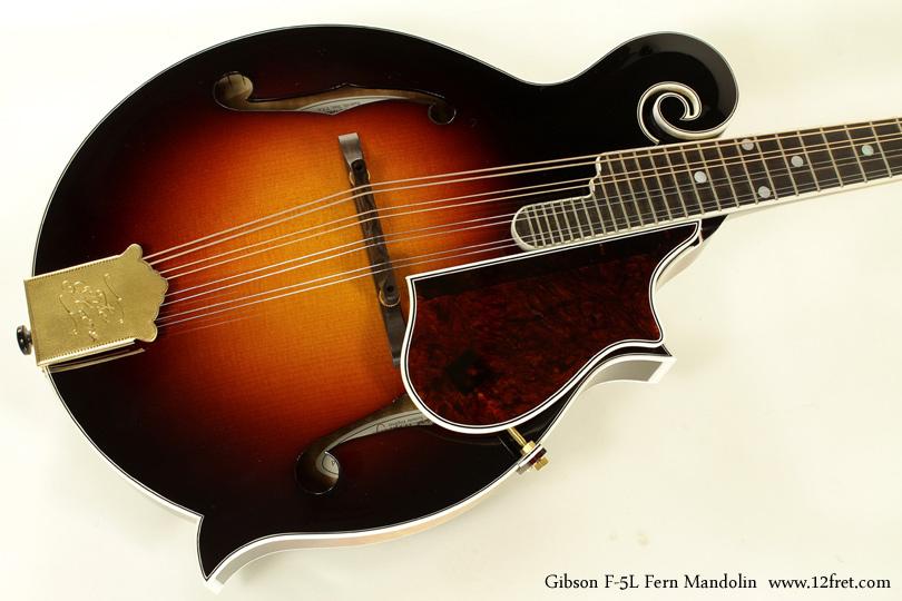 Gibson F-5L Fern Mandolin top