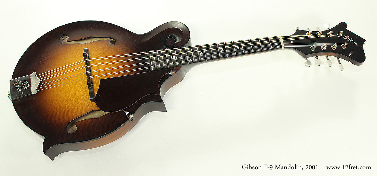 Gibson F-9 Mandolin, 2001 Full Front View