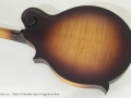 Gibson F-9 Mandolin Satin Brownburst back