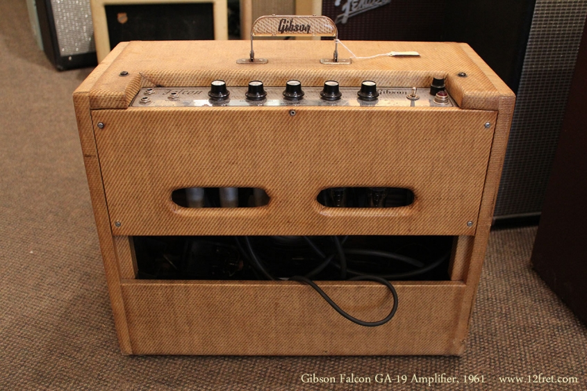Gibson Falcon GA-19 Amplifier, 1961 Full Rear View