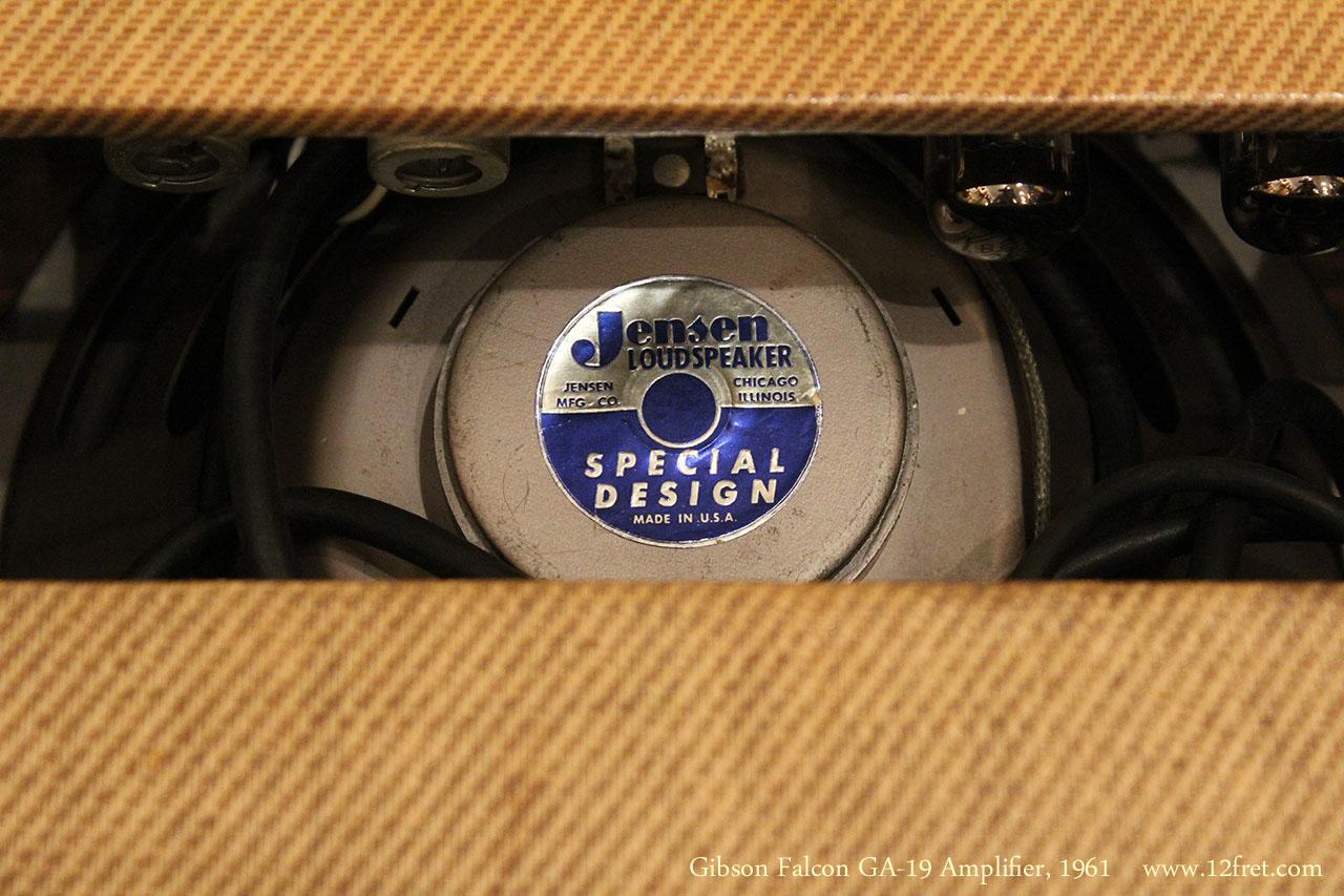 Gibson Falcon GA-19 Amplifier, 1961 Speaker