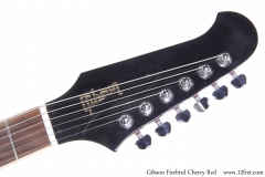 Gibson Firebird Cherry Red Head Front View
